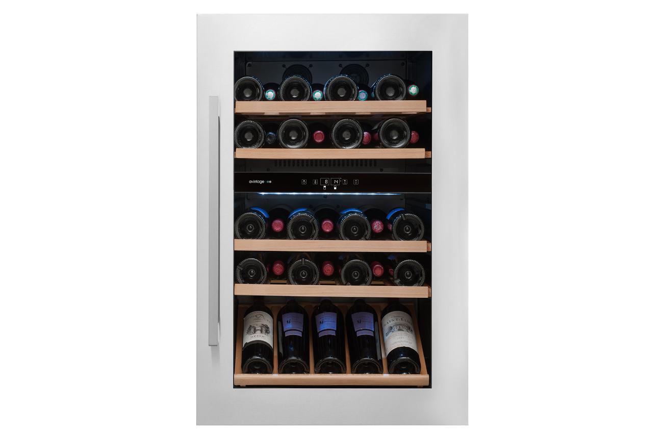 avintage cave a vin encastrable cave vieillissement. Black Bedroom Furniture Sets. Home Design Ideas
